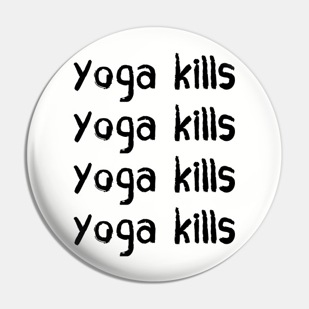 Yoga Gilmore Girls Pin Teepublic