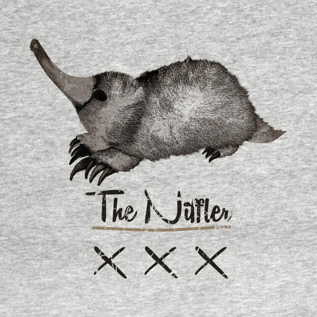 The Niffler!  Fantastic Beasts and Where to Find Them!