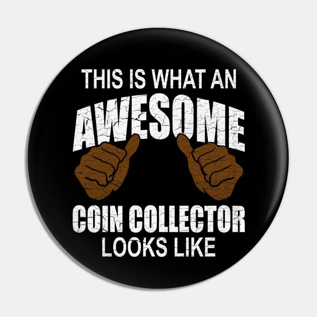 Coin Collector Tee Money Collecting