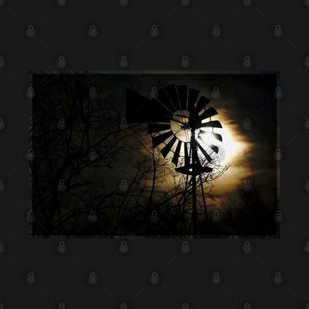 Dark Windmill - Windmilll - T-Shirt   TeePublic