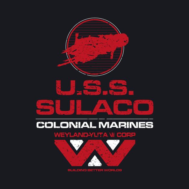USS SULACO COLONIAL MARINES