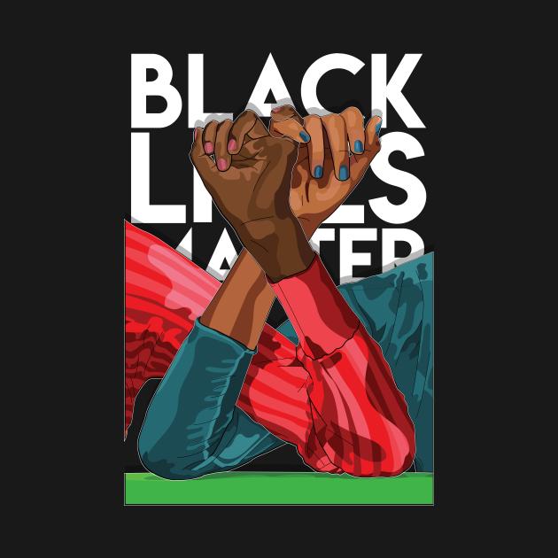 Unity in Black Lives Matter - Version 2