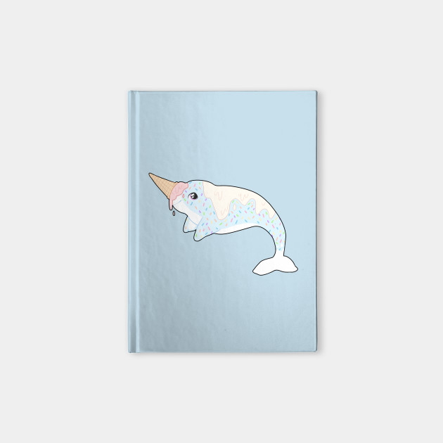 Image of: Unicorn Sprinkles The Ice Cream Narwhal Notebook Friendsreunionclub Sprinkles The Ice Cream Narwhal Cute Animals Notebook Teepublic