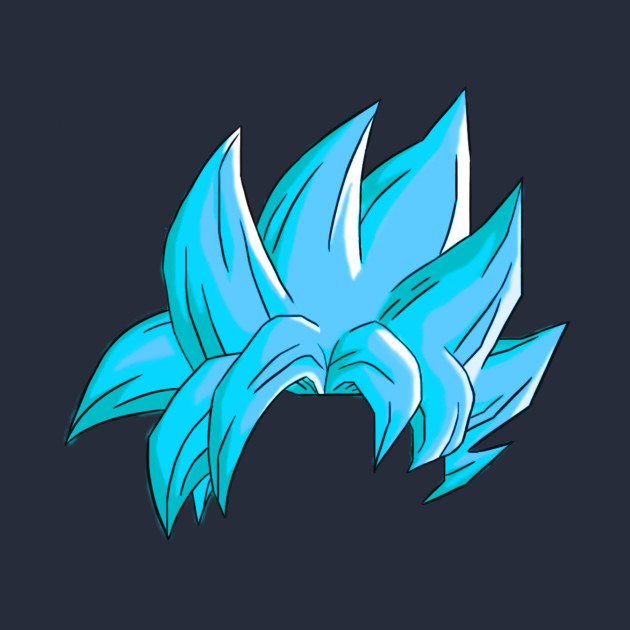 Goku Super Saiyan Blue Hairstyle Dragonball T Shirt
