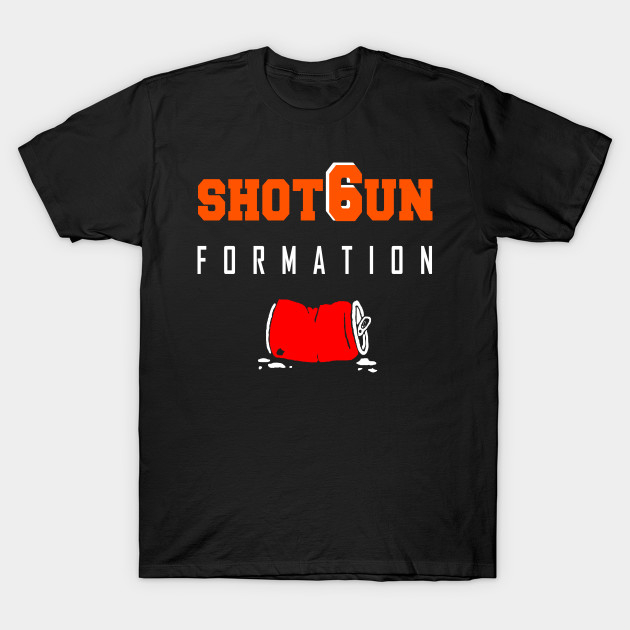 Cleveland ShotGun Formation T-Shirt