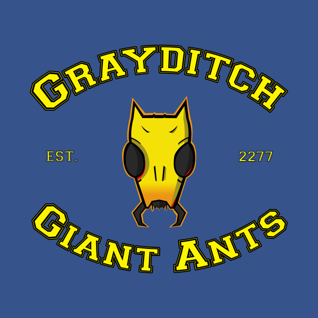 Grayditch Giant Ants