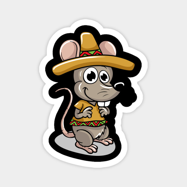 Cute Mexican Mouse