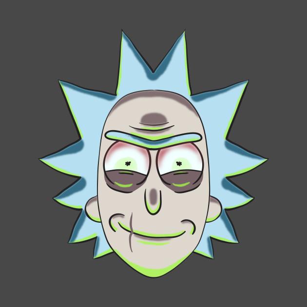 Evil Rick Sanchez - Rick And Morty - T-Shirt | TeePublic