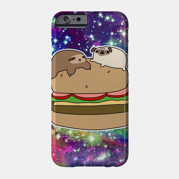 Sloth burger Funny Animal iphone case