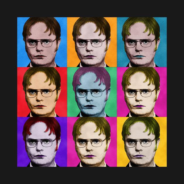Dwight Schrute Diptych