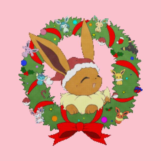 Christmas Eevee.Christmas Eevee Sweater