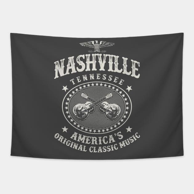 Nashville Music City Tennessee Guitars Vintage