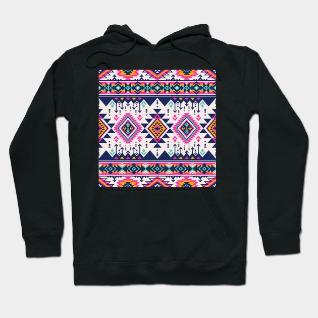d6835570fea17e Retro Tribal Aztec - Aztec - Hoodie