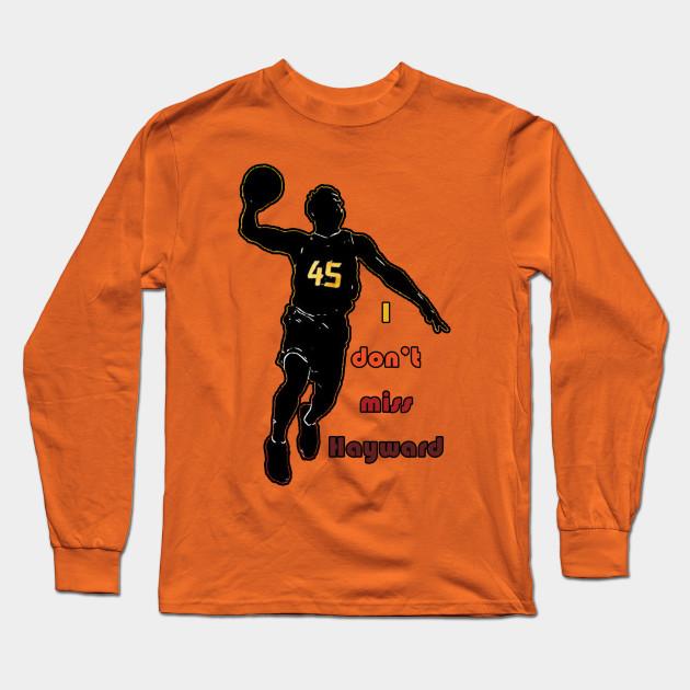 I Don t Miss Hayward (City Edition) - Utah Jazz - Long Sleeve T ... bafa4945b