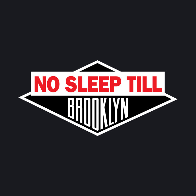 Navy No Sleep Till Brooklyn Tee Shirt