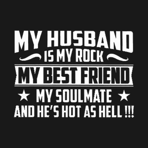 My Husband Is My Rock My Husband Is My Rock Tank Top Teepublic
