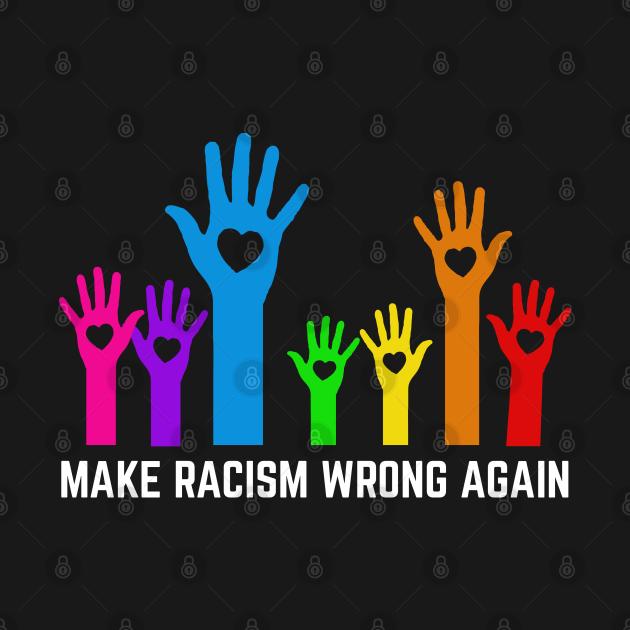 Make racism wrong again anti trump 86 45