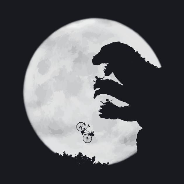 E.T. vs. Godzilla