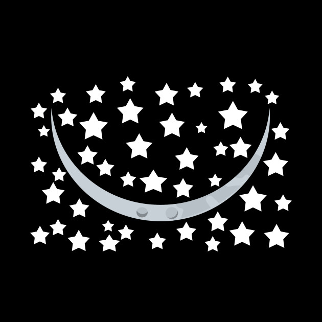 young moon smile star face mask gift