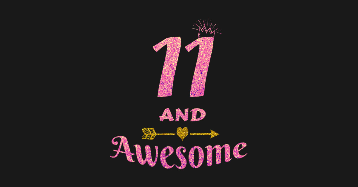 11th Birthday Gift For Girl 11 And Awesome Girls Gifts Hoodie