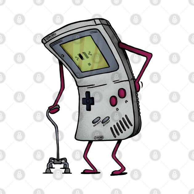 Old Gamer Boy