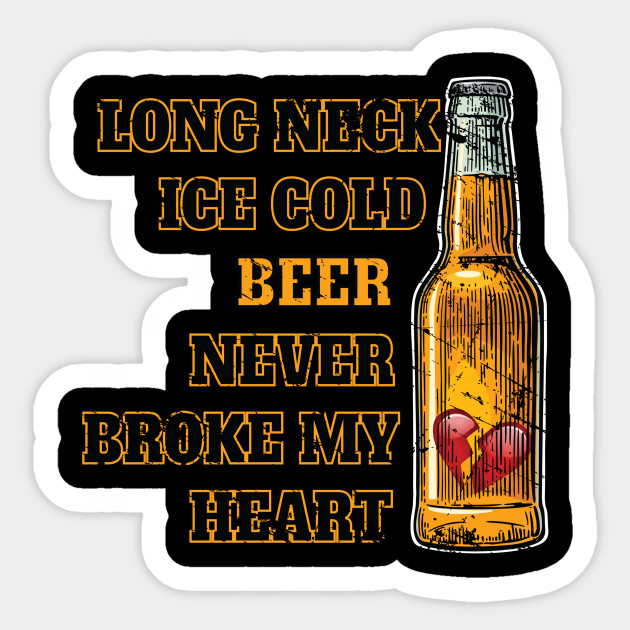 long neck ice cold beer