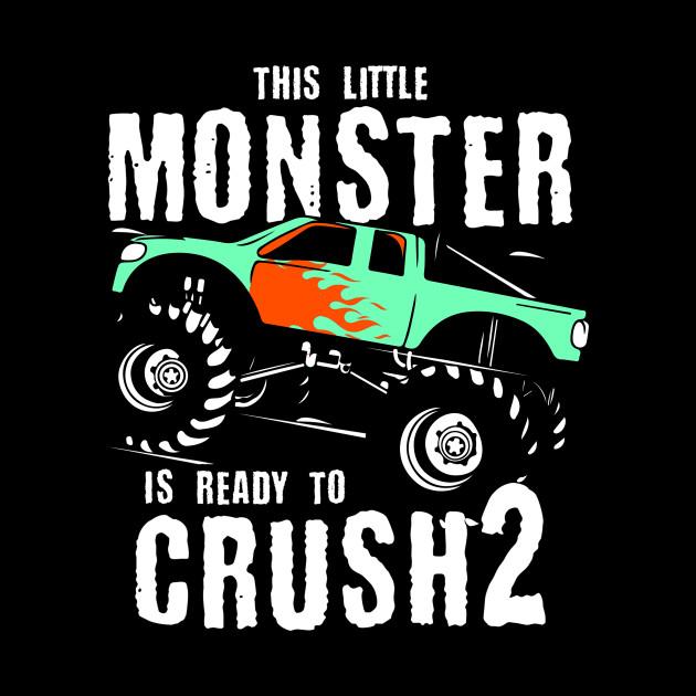 Monster Trucks 2nd Birthday Gift | Big Trucks