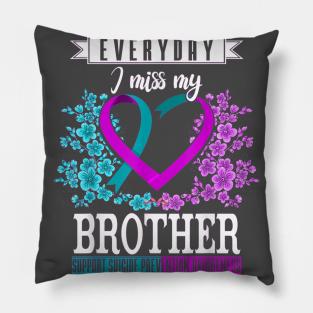 Arrow Pillow Cover Throw Pillow Mental Health Depression Pillow Suicide Awareness Semicolon Pillow Warrior Pillow Suicide Prevention