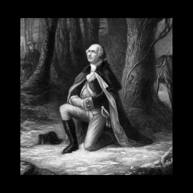 General Washington Praying At Valley Forge