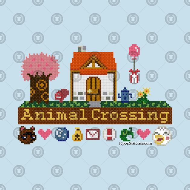 Animal Crossing Pixel House By Dubukat