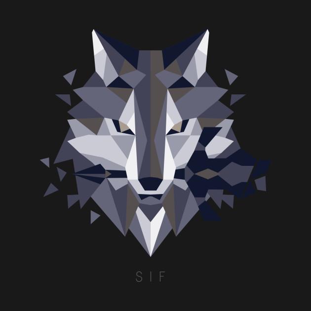 Sif the Great Grey Wolf II