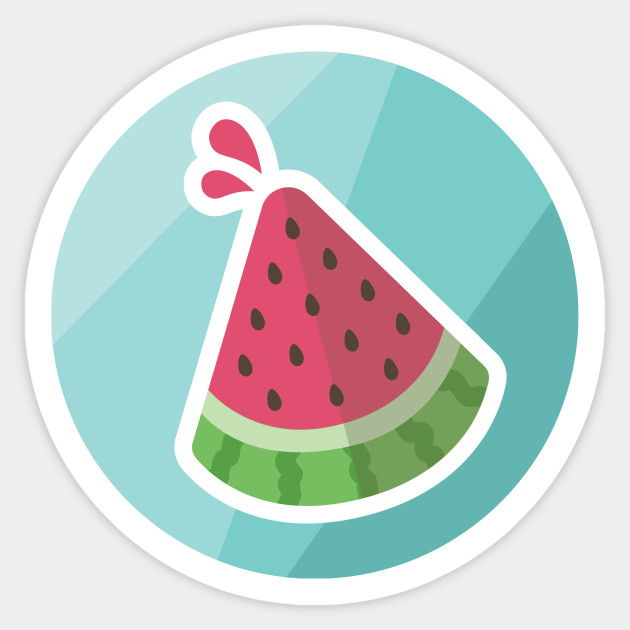 Watermelon sticker watermelon watermelon
