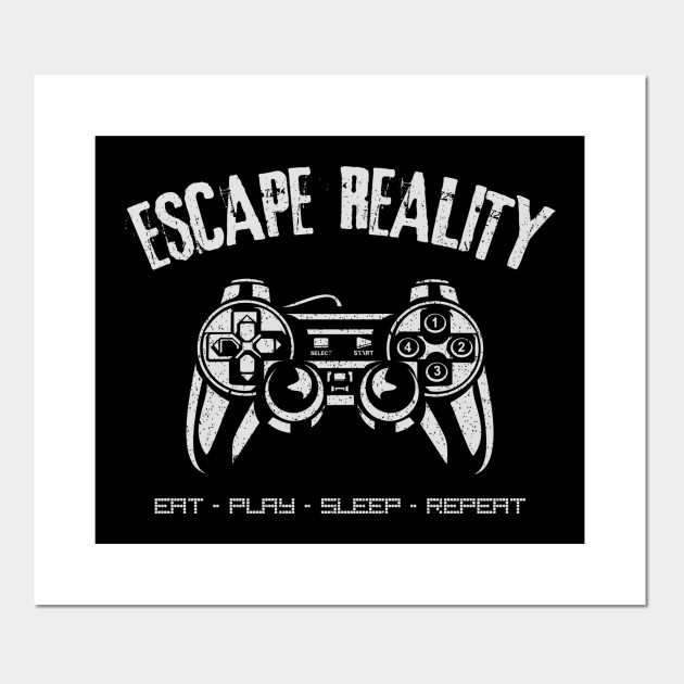 ab0869e6daac Escape Reality ~ Video Games - Game Controller - Posters and Art ...