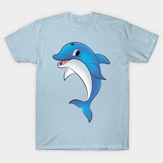 Dolphin - Dolphin - T-Shirt | TeePublic