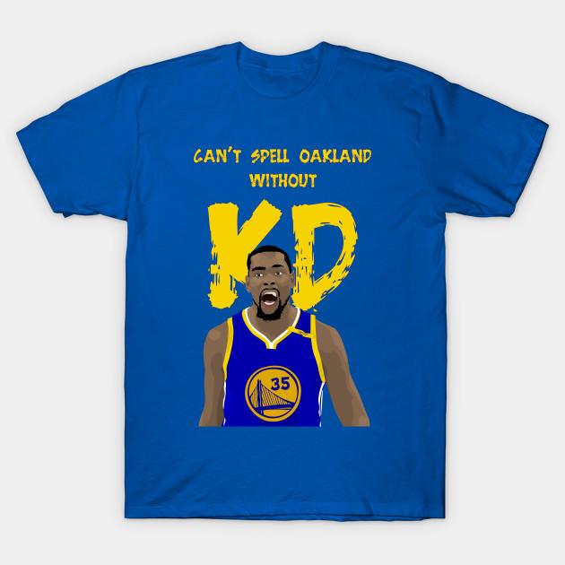 KD Jersey KD Oakland - Nba - T-Shirt   TeePublic