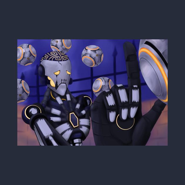 Spooky Robot Uncle