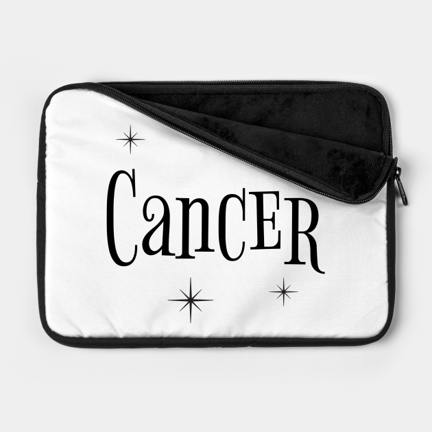 Cancer zodiac sign with stars
