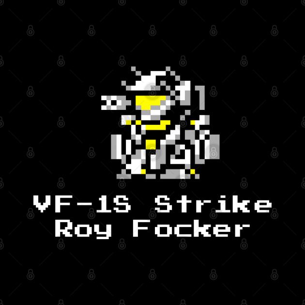 8bit DYRL VF-1S Strike Roy battroid
