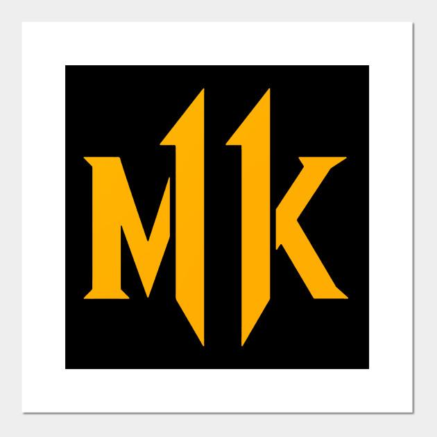 Mortal Kombat 11 New Logo 2019 Mortal Kombat 11 Posters And