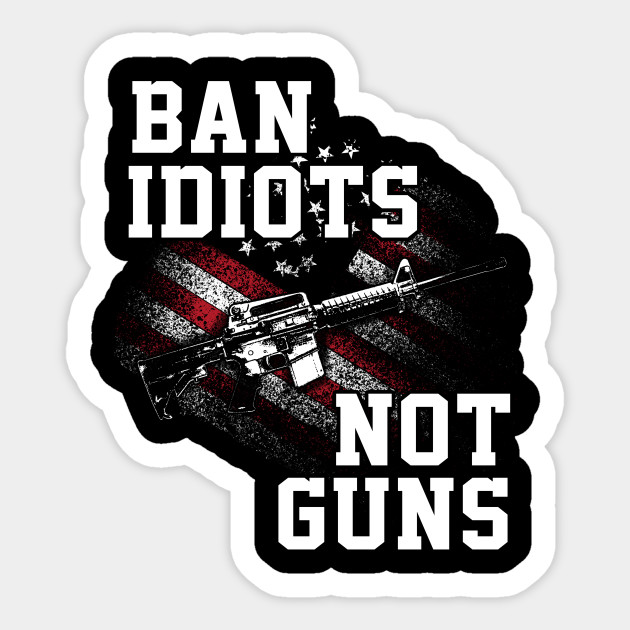 Ban Idiots Not Guns