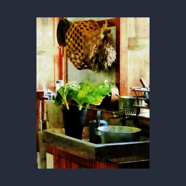 Cooks - Washing Garden Greens