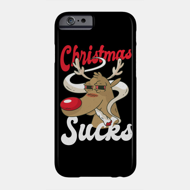 Christmas Smoke Phone Case