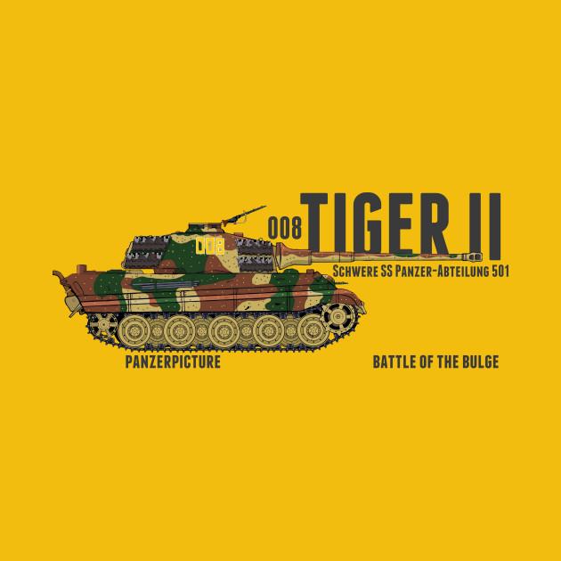 Tiger II 008 Battle of the Bulge