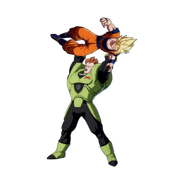 Android 16 vs. Goku