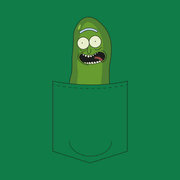 Pickle Rick In My Pocket - Rick & Morty Tee
