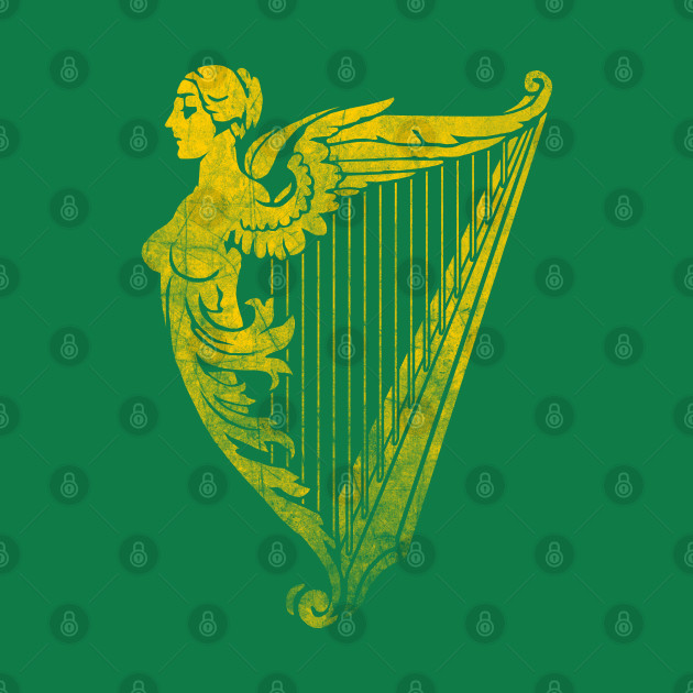 Irish Harp Heraldry