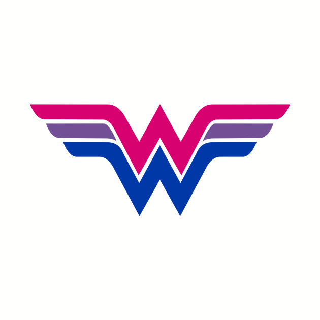 Wonder Woman Bi Flag