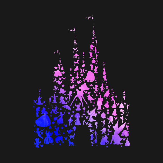 Character Castle Inspired Silhouette