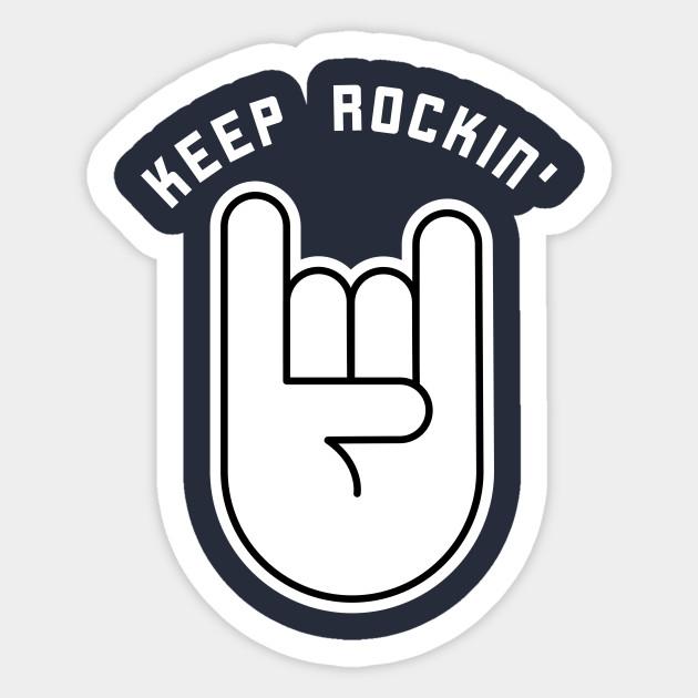 Rock And Metal Music Music Sticker Teepublic