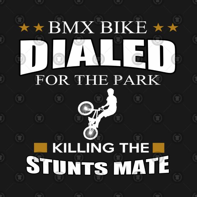 BMX T-SHIRT BMX DIALED